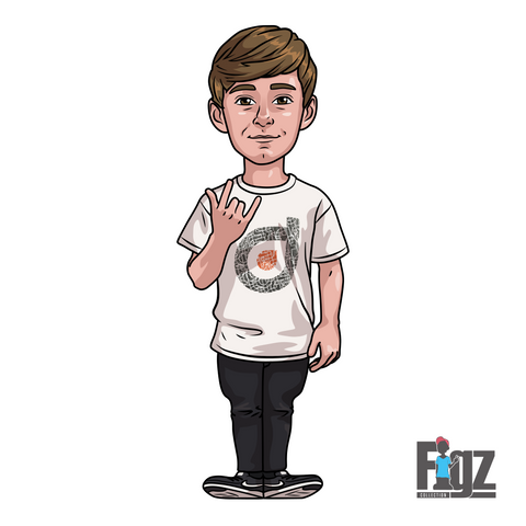 FIGZ STICKERS - JAMIE HULL