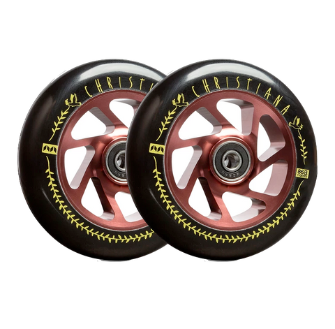 "TILT META ""TOMMY Christiana"" SIGNAURE 110MM x 24MM WHEELS"