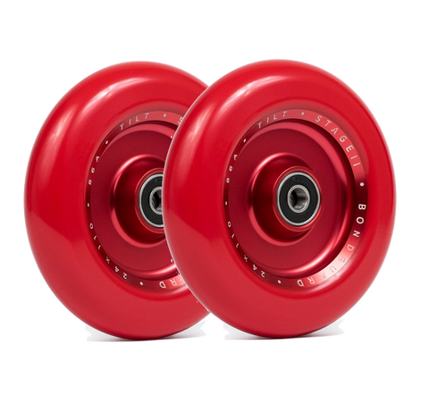 TILT STAGE II FULL CORE WHEELS - RED