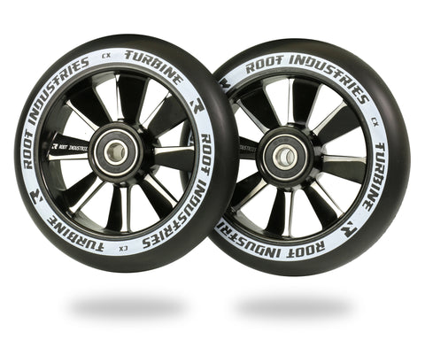 ROOT TURBINE WHEELS 110MM - BLACK