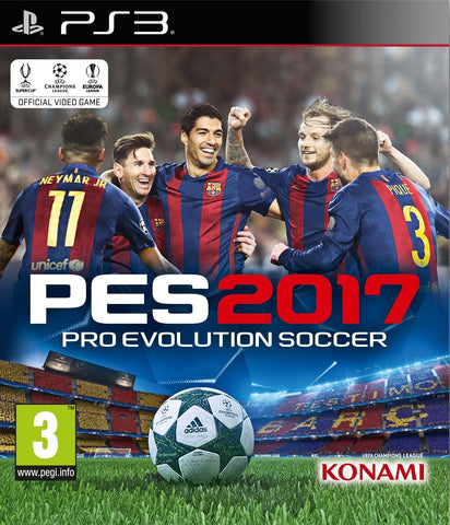 Pro Evolution Soccer 2017 - PlayStation 3