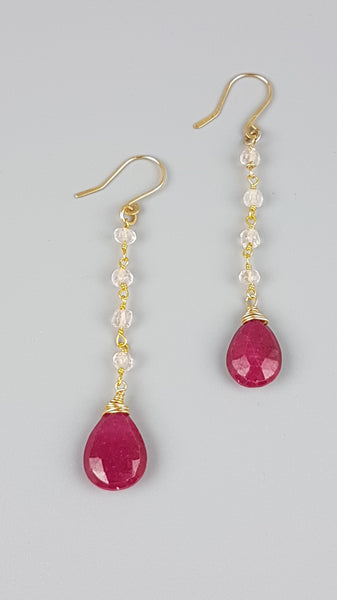Ruby & Rose Earring