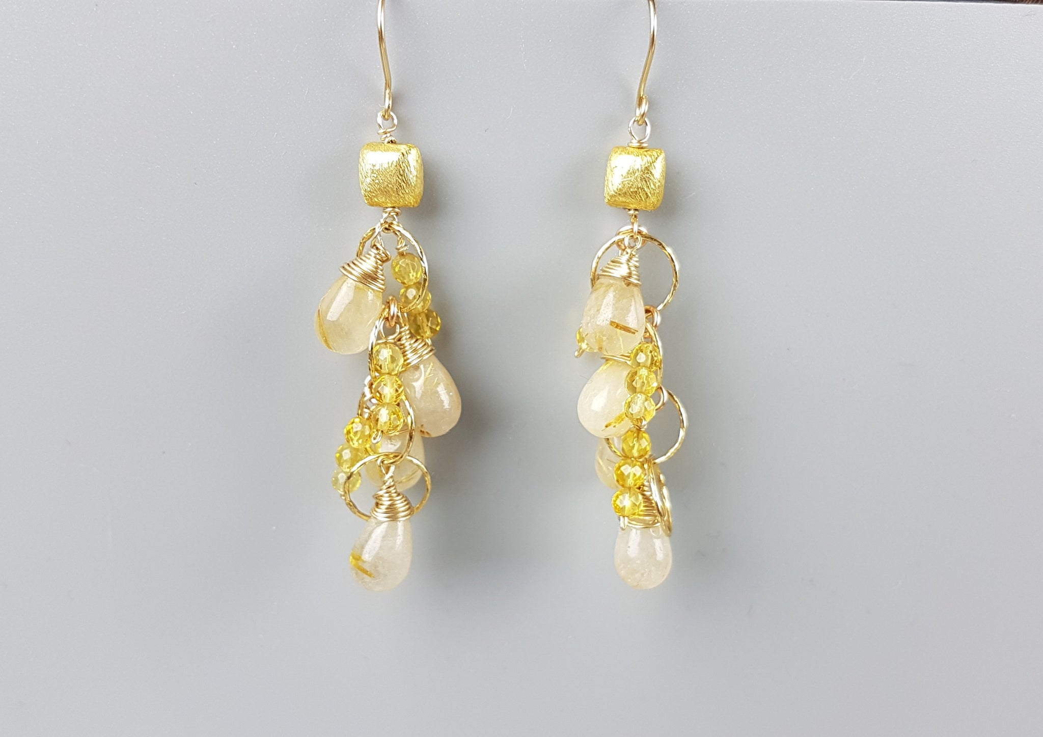 Golden Buds Earrings