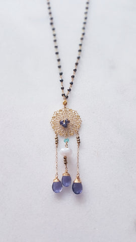 Mystic Skies Long Necklace