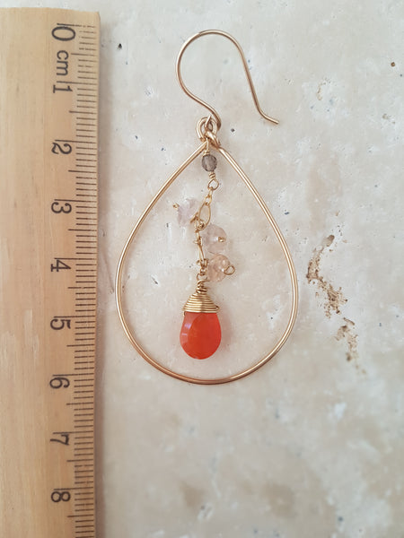 Sunrise Goddess Earrings