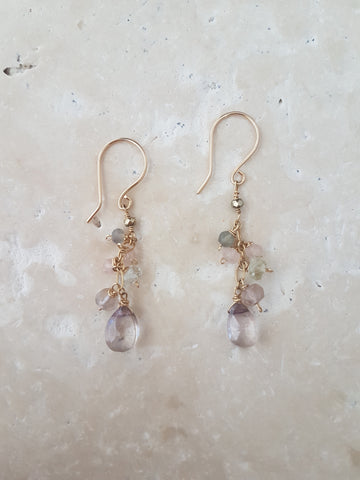 Mystic Copper Earrings