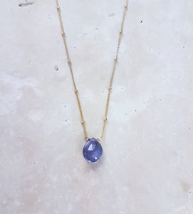 Gem Drop NeckLace