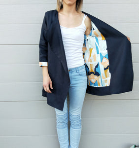 Deep Navy Blazer~ Paintly