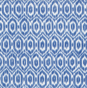 Amala Ikat Blue Cocktail Napkin