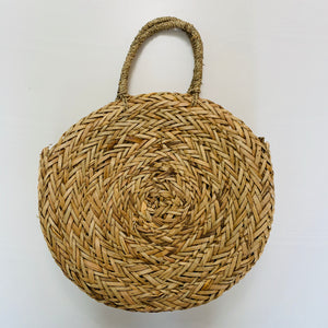 Baja Straw Circle Handbag