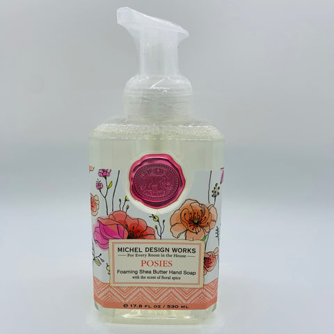 Posies Foaming Shea Butter Hand Soap