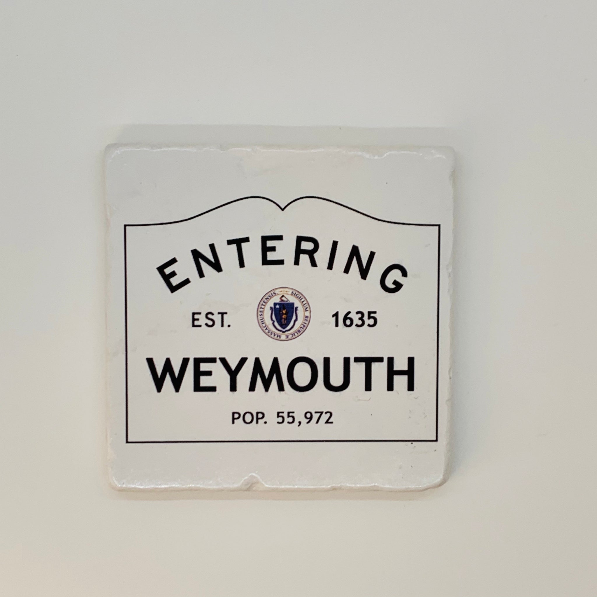 Weymouth Marble Coaster