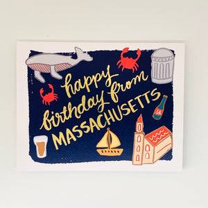 Birthday From Massachusetts