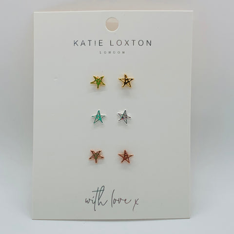 Florence Outline Star Earring Set