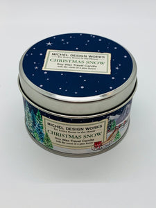 Christmas Snow Travel Candle