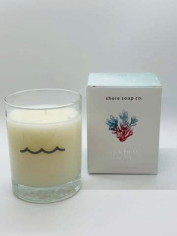Jack Frost Tumbler Candle