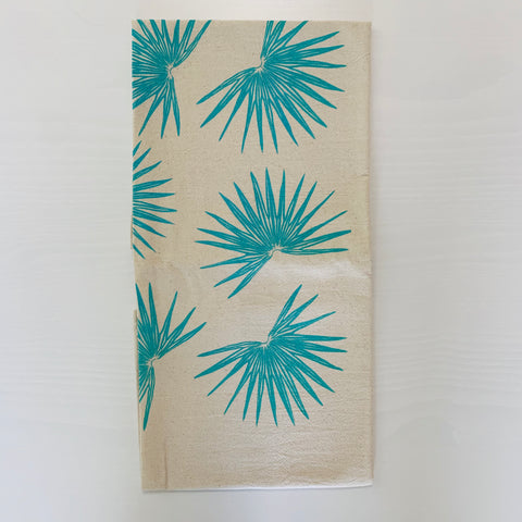 Fan Palm Tea Towel (Mint -Green)