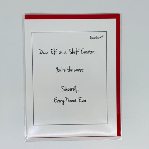 Elf on the Shelf Creator