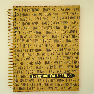 Journal: I Have No Ideas