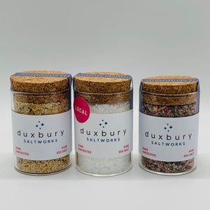 Duxbury Salt Trio:  Summer, Spring & Sea Salt