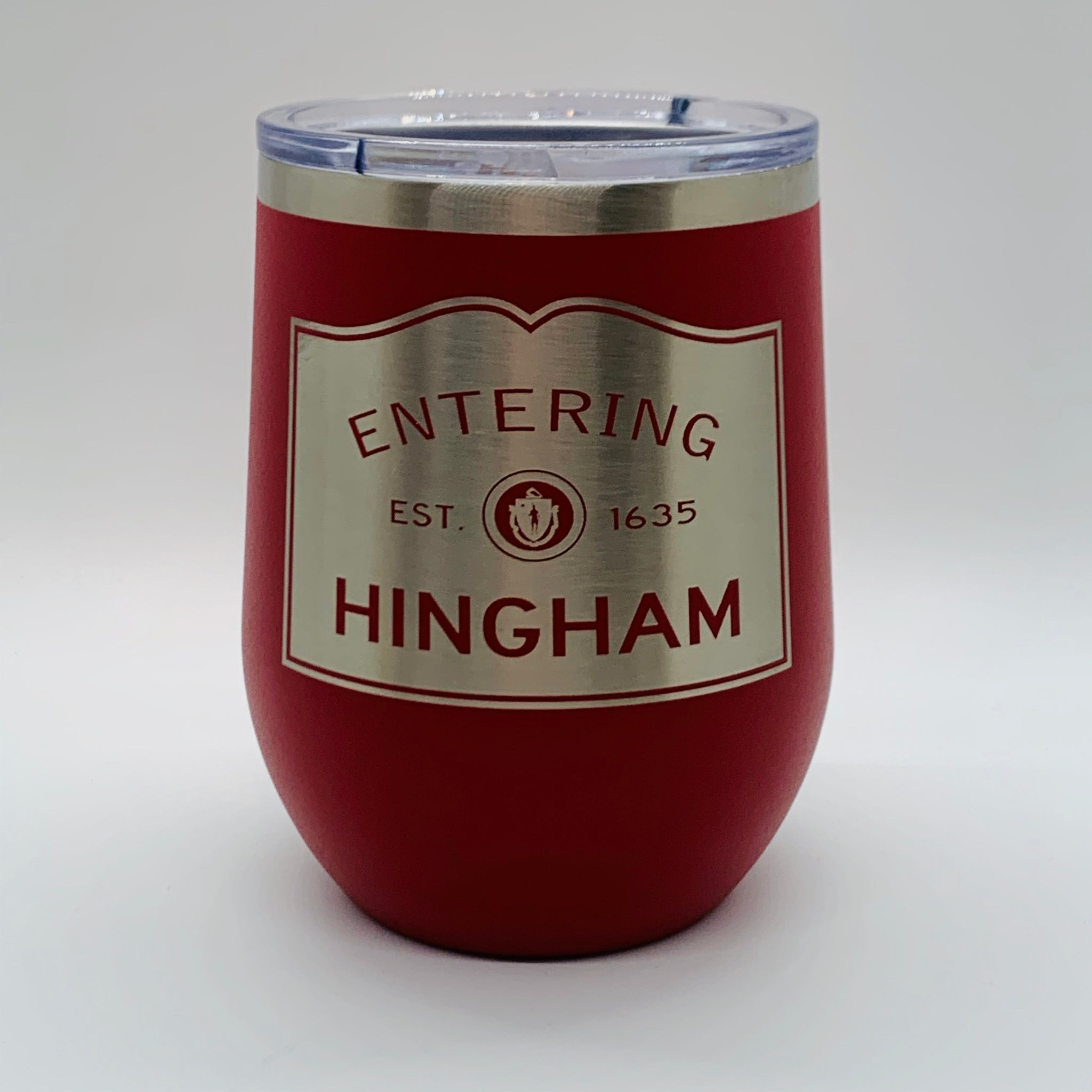 Entering Hingham Stemless Insulated Wine
