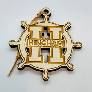 Hingham Ship Wheel