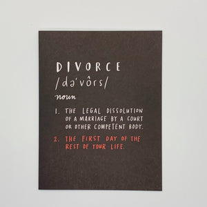 Divorce Definition