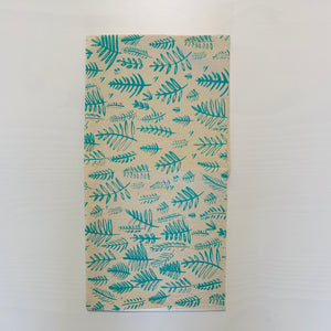 Fern Tea Towel (Mint Green