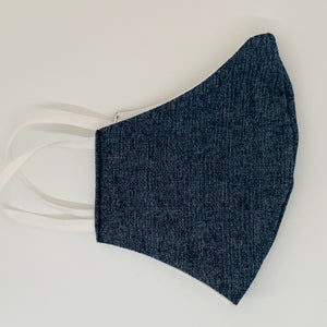 Kids Indigo & Chambray Facemask