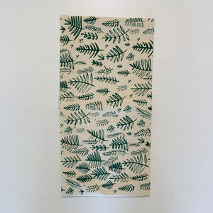 Fern Tea Towel (Dark Green)