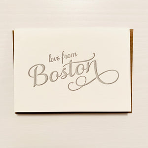 Love from Boston
