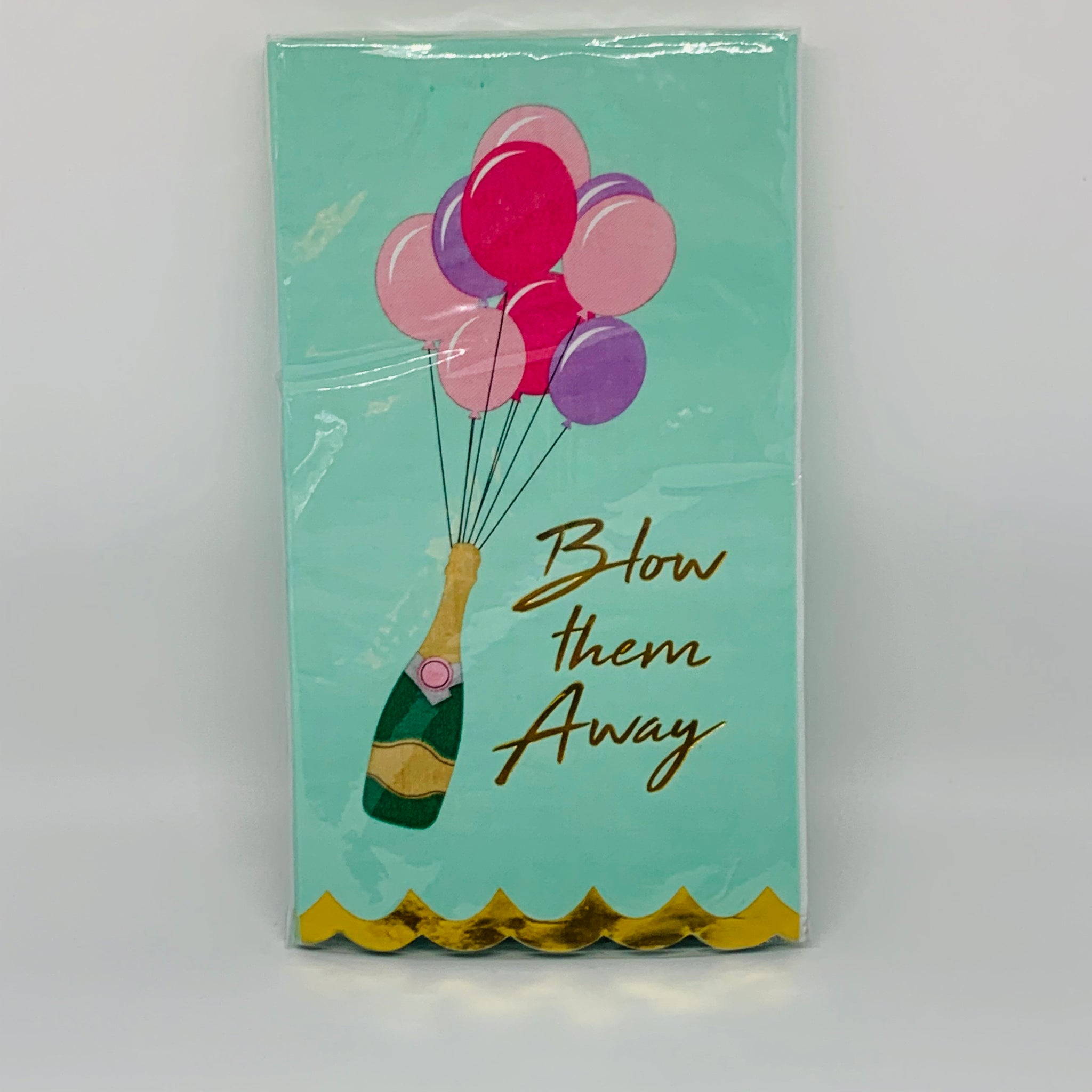 'Blow Them Away' Guest Towels