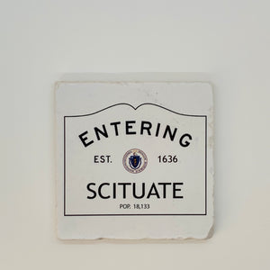 Scituate Marble Coaster