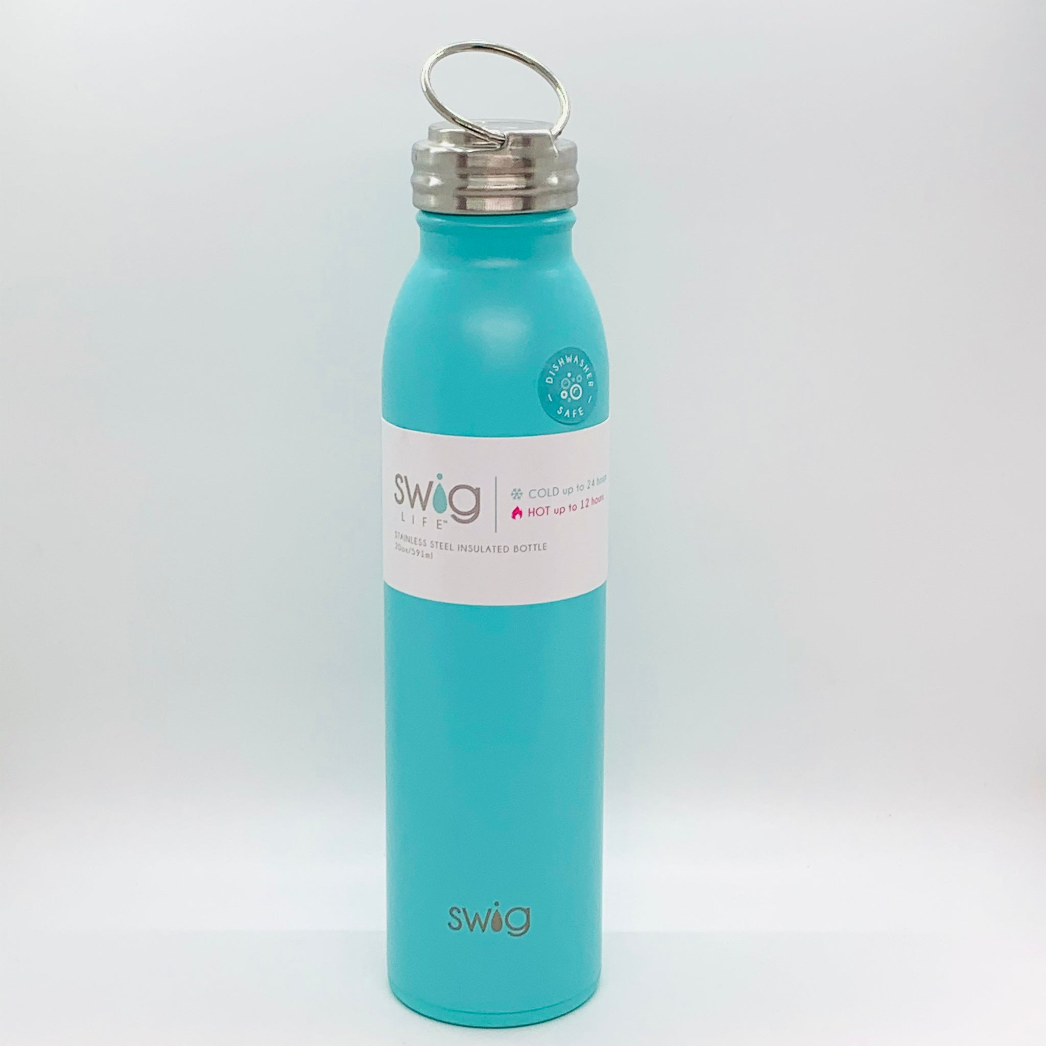 Swig Matte Bottle Aqua