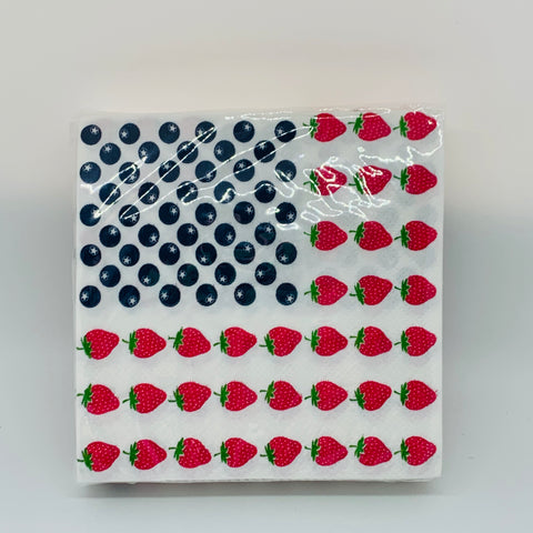 USA Dessert Cocktail Napkins