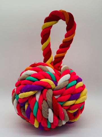 Multicolor Knot Door Stop