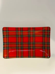 Tartan Rectangle Soap Dish