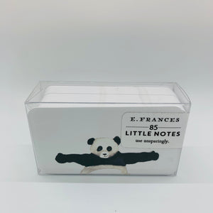 Panda Hugs Little Notes