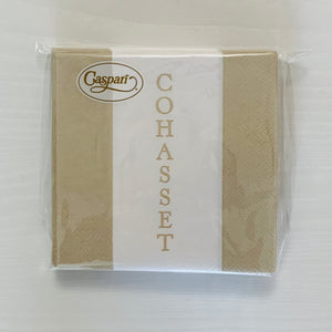 Cohasset Bandol Tan Cocktail Napkin
