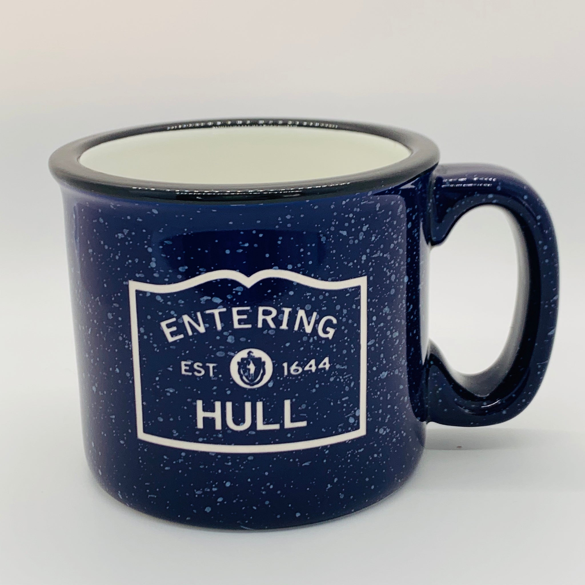 Entering Hull Colbalt Camp Mug