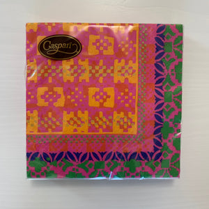 Frida Fuschia/Orange Luncheon Napkin