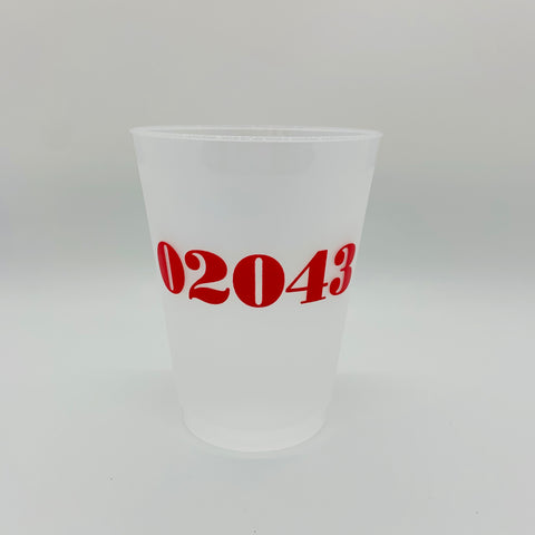 02043 Red Shatterproof Cups