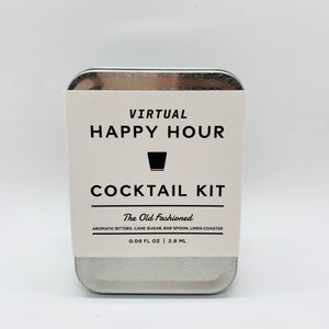 Happy Hour Cocktail Kit:  The Old Fashion
