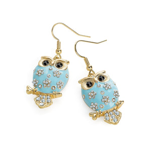 Finely Detailed Owl Earrings - SJ Fashion Outlet JEWELLERY ACCESSORIES FASHION HANDBAGS PURSES