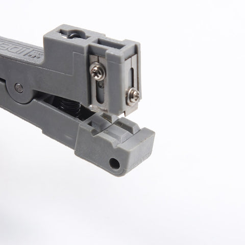 Image of Fiber Optic Cable Stripping Tool Fiber Optic Stripper Ideal 45-162 Coaxial Cable Stripper