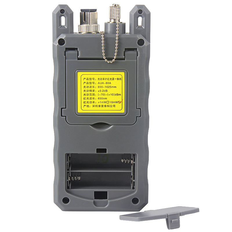 All-IN-ONE Fiber optical power meter -70 to +10dBm and 10mw 10km Fiber Optic Cable Tester Visual Fault Locator