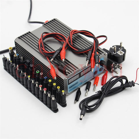 Mini cps-3205II DC Power Supply + 37pcs DC cable connector EU UK US adapter