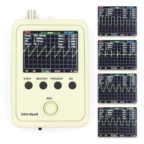 Image of Fully Assembled DIY Digital Oscilloscope