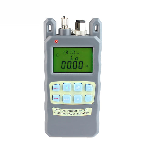 Image of All-IN-ONE Fiber optical power meter -70 to +10dBm1mw 5km Fiber Optic Cable Tester Visual Fault Locator FTTH Tester Tool