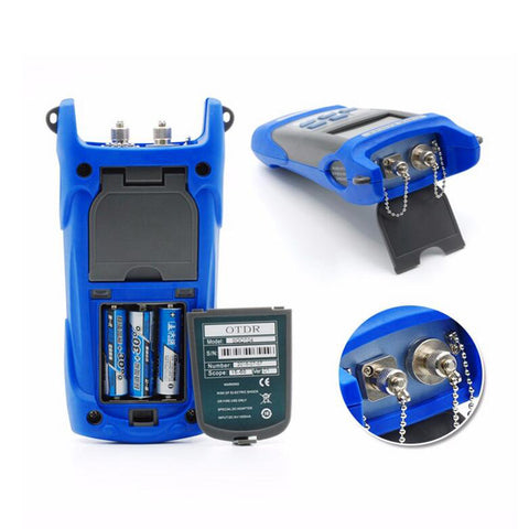 Image of Handheld OTDR 60KM Fiber find fault tester 1310/1550nm SGOT04 Optical time domain reflectometer with VFL FC/SC Connector BY DHL